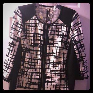 Jones Black and White suit separates jacket